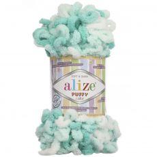 Пряжа Puffy Color Ализе, цвет № 5920
