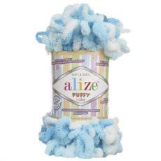 Пряжа Puffy Color Ализе, цвет № 5924