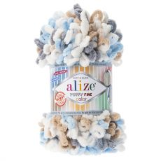 Пряжа Puffy Fine Color Ализе, цвет № 5946