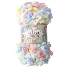 Пряжа Puffy Fine Color Ализе, цвет № 5949