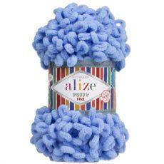 Пряжа Puffy Fine Ализе, цвет № 112 (Голубой)
