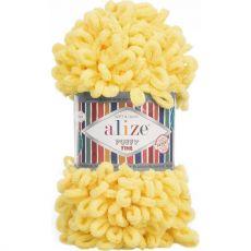 Пряжа Puffy Fine Ализе, цвет № 113 (Желтый)