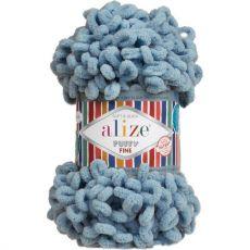 Пряжа Puffy Fine Ализе, цвет № 280 (Сумеречно синий)