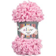 Пряжа Puffy Fine Ализе, цвет № 39 (Розовый)