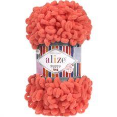 Пряжа Puffy Fine Ализе, цвет № 526 (Гранатовый)