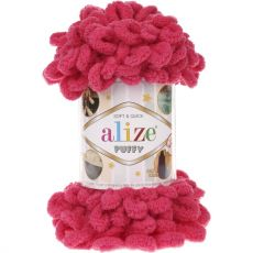 Пряжа Puffy Ализе, цвет № 149 (Фуксия)