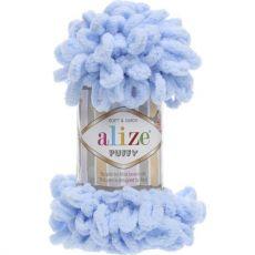 Пряжа Puffy Ализе, цвет № 183 (Светло-голубой)