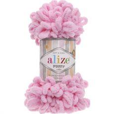 Пряжа Puffy Ализе, цвет № 185 (Розовый)