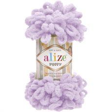 Пряжа Puffy Ализе, цвет № 27 (Светлая сирень)