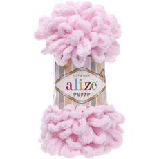 Пряжа Puffy Ализе, цвет № 31 (Детский розовый)