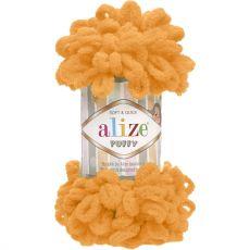 Пряжа Puffy Ализе, цвет № 336 (Оранжевый)
