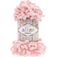 Пряжа Puffy Ализе, цвет № 340 (Пудра)