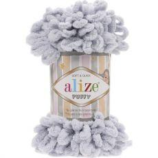 Пряжа Puffy Ализе, цвет № 416 (Серый)