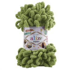 Пряжа Puffy Ализе, цвет № 485 (Зелёный)