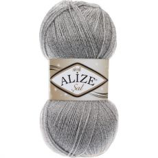 Пряжа Sal Simli Ализе, цвет № 21 (Серый)