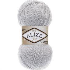 Пряжа Alize Sal Simli, цвет № 362 (Облачно-серый)