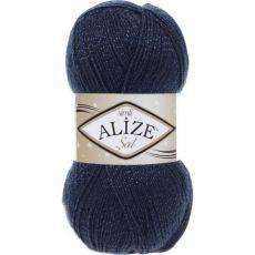 Пряжа Sal Simli Ализе, цвет № 58 (Темно-синий)