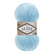 Пряжа Alize Sal Simli, цвет № 40 (Голубой)