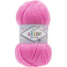 Пряжа Sekerim Bebe Ализе, цвет № 157 (Ярко розовый)