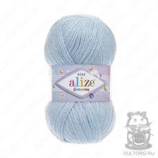 Пряжа Alize Sekerim Bebe, цвет № 183 (Светло-голубой)