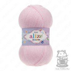 Пряжа Alize Sekerim Bebe, цвет № 184 (Светло-розовый)