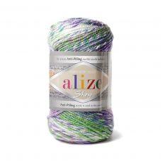 Пряжа Alize Show Punto Batik Design, цвет № 6673