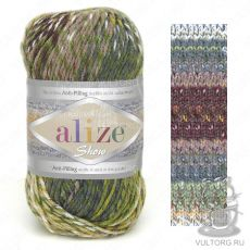 Пряжа Alize Show Punto Batik Design, цвет № 6369