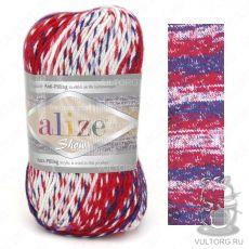 Пряжа Alize Show Punto Batik Design, цвет № 6372