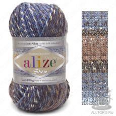 Пряжа Alize Show Punto Batik Design, цвет № 6360