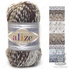 Пряжа Alize Show Punto Batik Design, цвет № 6364