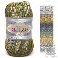 Пряжа Alize Show Punto Batik Design, цвет № 6367