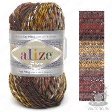 Пряжа Alize Show Punto Batik Design, цвет № 6370