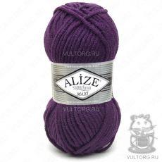 Пряжа Alize Superlana Maxi, цвет № 111 (Фиолетовый)