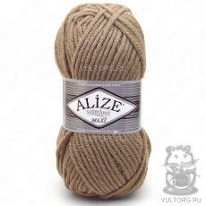 Пряжа Superlana Maxi Ализе, цвет № 697 (Рыжевато-коричневый)
