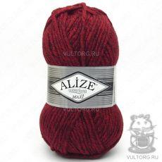 Пряжа Superlana Maxi Ализе, цвет № 802 (Красный жаспе)