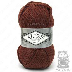Пряжа Alize Superlana Maxi, цвет № 588 (Терракот меланжевый)