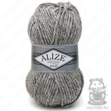 Пряжа Alize Superlana Maxi, цвет № 803 (Молочно-коричневый жаспе)