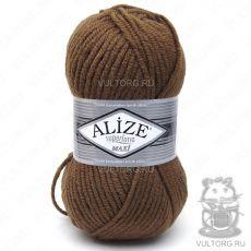 Пряжа Alize Superlana Maxi, цвет № 137 (Табачно-коричневый)