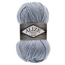 Пряжа Alize Superlana Maxi, цвет № 480 (Светло-голубой)
