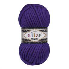 Пряжа Alize Superlana Megafil, цвет № 388 (Пурпурный)
