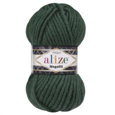 Пряжа Alize Superlana Megafil, цвет № 426 (Темно-зеленый)