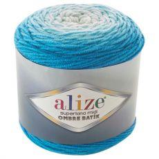 Пряжа Alize Superlana Midi Ombre Batik, цвет № 7275