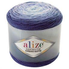 Пряжа Alize Superlana Midi Ombre Batik, цвет № 7291