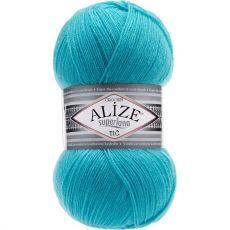 Пряжа Alize Superlana TIG, цвет № 467 (Светло-бирюзовый)