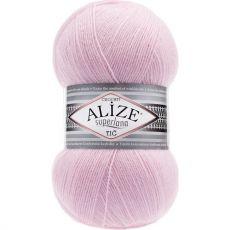Пряжа Alize Superlana TIG, цвет № 518 (Розовая пудра)
