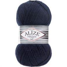 Пряжа Alize Superlana TIG, цвет № 58 (Темно-синий)
