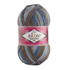 Пряжа Superwash 100 Ализе, цвет № 7188