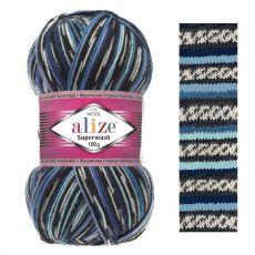 Пряжа Alize Superwash 100, цвет № 6765