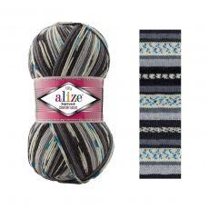 Пряжа Alize Superwash Comfort Socks, цвет № 7650