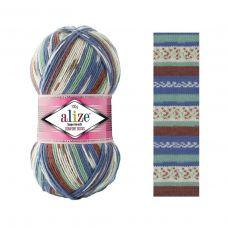 Пряжа Alize Superwash Comfort Socks, цвет № 7653